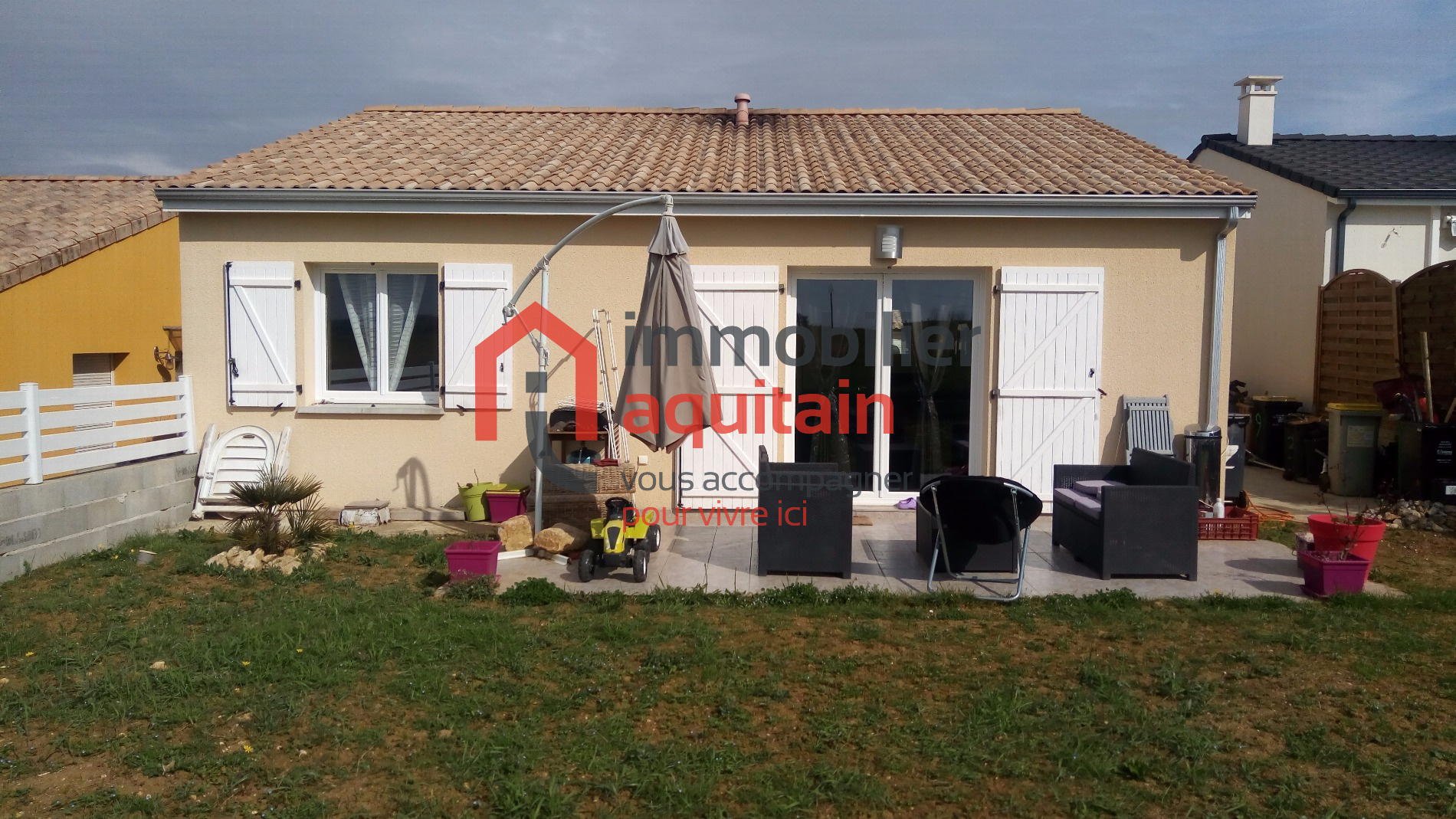 Annonce vente maison saint quentin de baron 33750 350 for Maison de l emploi saint quentin