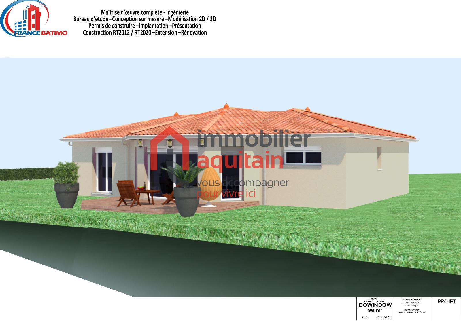 Vente maison neuve de qualit for Acheter maison neuve 29