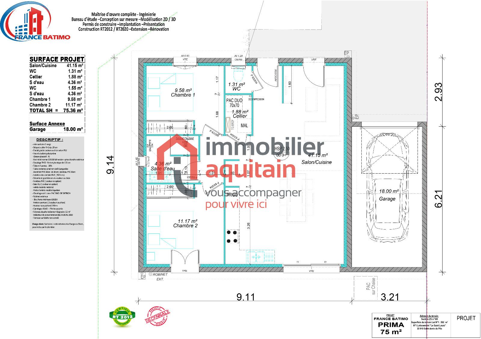 Prix M2 Hors D Eau Hors D Air se rapportant à vente maison de qualité en hors d'eau hors d'air